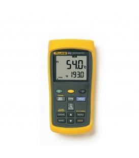 54-2 B - Termometro due  ingressi  con datalogger