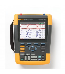 OSCILLOSCOPIO PALMARE 200 MHz, 2 CH +SCC
