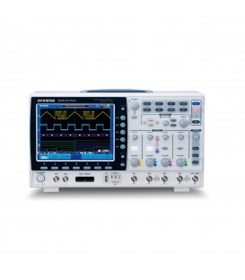 GDS-2104A - Oscilloscopio 100 MHz, 4 ch