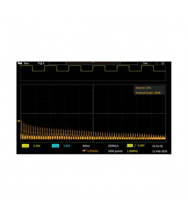 TBS1072C - OSCILLOSCOPIO DIGITALE 70 MHZ - 2 CH