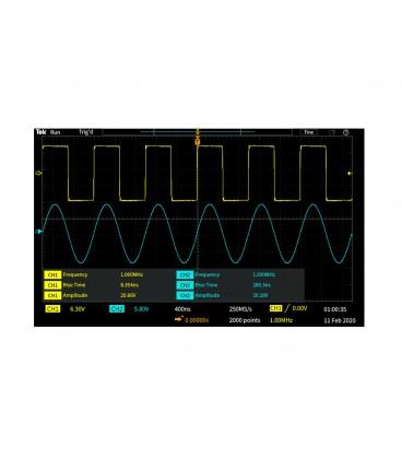 TBS1202C - OSCILLOSCOPIO DIGITALE 200 MHZ - 2 CH