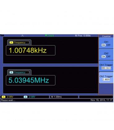 OSCILLOSCOPIO DIGITALE 100 MHZ - 2 CH