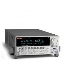SMU, 2 canali, 40 V,3 A DC,10 A Pulse