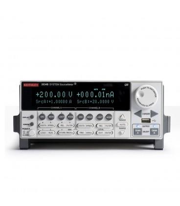 SMU, 2 canali, 200 V,1.5 A DC,10 A Pulse
